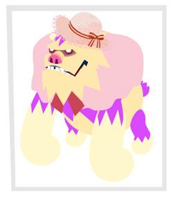 ピンクの麦わら帽子の….jpg